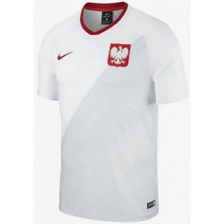 Vente Privee Maillot Pologne Fan Shirt Domicile 2018/2019 Coupe Du Monde