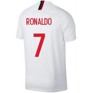 Solde Maillot Portugal RONALDO Extérieur 2018/2019 Coupe du Monde