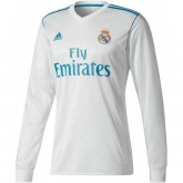 Maillot Real Madrid 2017/2018 Domicile Manches Longues en Promo