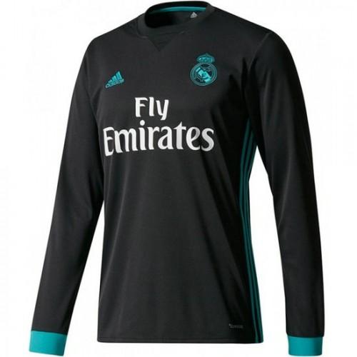Adidas Real Madrid Maillot à manches longues enfant, Gris