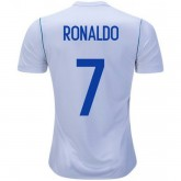 Maillot Real Madrid Enfant RONALDO 2017/2018 Domicile Europe