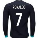 Paris Maillot Real Madrid Enfant RONALDO 2017/2018 Extérieur Manches Longues