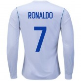 Maillot Real Madrid RONALDO 2017/2018 Domicile Manches Longues Soldes Marseille