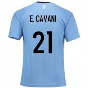 En ligne Maillot Uruguay Enfant CAVANI Domicile 2018/2019 Coupe Du Monde