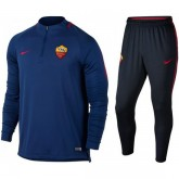 Survetement Football AS Roma 2017/2018 Homme Bleu Soldes Paris