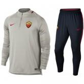Achetez Survetement Football AS Roma 2017/2018 Homme Gris
