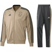 Survetement Football Ajax 2018/2019 Homme Or-Gris Réduction Prix