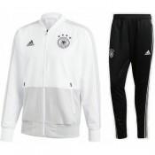 Nouveau Survetement Football Allemagne 2018/2019 Coupe Du Monde Homme Blanc-Noir