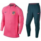 Nouvelle Survetement Football Atletico Madrid 2017/2018 Homme Rose