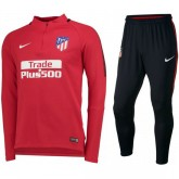 Soldes Survetement Football Atletico Madrid 2017/2018 Homme Rouge