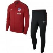 Acheter Nouveau Survetement Football Atletico Madrid Enfant 2017/2018 Rouge En Ligne