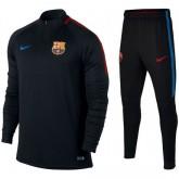 Survetement Football Barcelone 2017/2018 Homme Noir Faire une remise