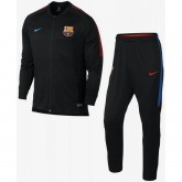 Survetement Football Barcelone 2017/2018 Homme Noir Ventes Privées