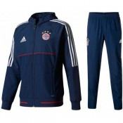 Survetement Football Bayern 2017/2018 Capuche Homme Marine PasCher Fr