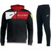 La Collection 2018 Survetement Football Belgique 2018/2019 Capuche Homme Noir