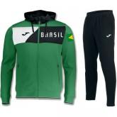 Survetement Football Bresil 2018/2019 Capuche Homme Vert En Soldes