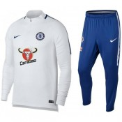 Survetement Football Chelsea 2017/2018 Homme Blanc Promos