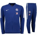 Survetement Football Chelsea 2017/2018 Homme Bleu Nouvelle