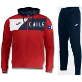 Nouvelle Survetement Football Chili 2018/2019 Capuche Homme Rouge