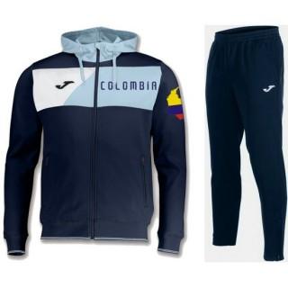 Survetement Football Colombie 2018/2019 Capuche Homme Marine Pas Chère