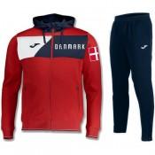 Survetement Football Danemark 2018/2019 Capuche Homme Rouge au Meilleur Prix