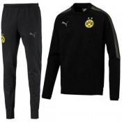 Magasin Survetement Football Dortmund BVB 2017/2018 Homme Casual-Noir Paris