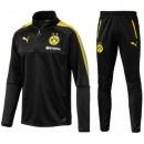 Survetement Football Dortmund BVB 2017/2018 Homme Noir Pas Chere