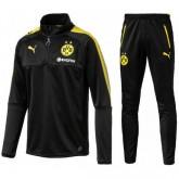 Survetement Football Dortmund BVB Enfant 2017/2018 Noir Pas Cher