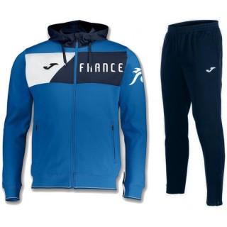 Survetement Football Equipe de France 2018/2019 Capuche Homme Bleu Vendre Lyon