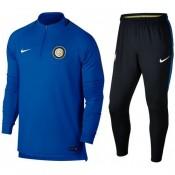 Acheter Survetement Football Inter Milan 2017/2018 Homme Bleu