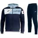 Original Survetement Football Japon 2018/2019 Capuche Homme Marine