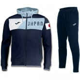 Original Survetement Football Japon 2018/2019 Capuche Homme Marine