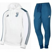 Survetement Football Juventus 2017/2018 Capuche Homme Blanc Original