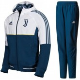 Survetement Football Juventus 2017/2018 Capuche Homme Blanc Nouvelle