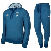 Boutique officielleSurvetement Football Juventus 2017/2018 Capuche Homme Bleu