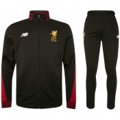 Survetement Football Liverpool 2017/2018 Homme Noir-Rouge Rabais Paris