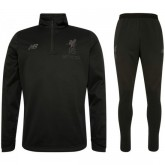 Survetement Football Liverpool 2017/2018 Homme Zip-Noir Soldes Marseille