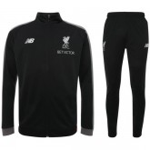 Survetement Football Liverpool 2018/2019 Homme Noir-Rouge Promo Prix Paris