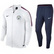 Survetement Football Manchester City 2017/2018 Homme Blanc Paris