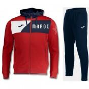 Survetement Football Maroc 2018/2019 Capuche Homme Rouge Vendre France