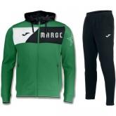Survetement Football Maroc 2018/2019 Capuche Homme Vert Remise Paris en ligne