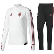 Survetement Football Milan AC 2017/2018 Homme Blanc Pas Cher Provence