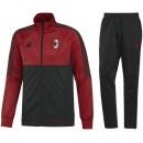 En ligne Survetement Football Milan AC 2017/2018 Homme Rouge