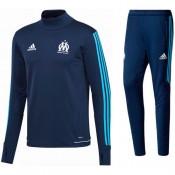 Survetement Football OM Marseille 2017/2018 Homme Marine Remise Paris en ligne