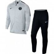 Nouvelle Collection Survetement Football PSG Paris Saint Germain 2017/2018 Homme Gris