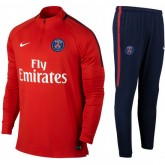 Survetement Football PSG Paris Saint Germain 2017/2018 Homme Marine Europe