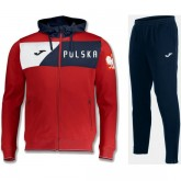 Officielle Survetement Football Pologne 2018/2019 Capuche Homme Rouge