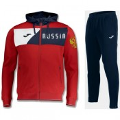 Survetement Football Russie 2018/2019 Capuche Homme Rouge Soldes Paris