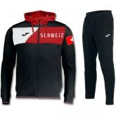 Boutique Survetement Football Suisse 2018/2019 Capuche Homme Noir Paris