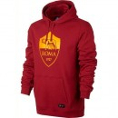 Sweat Foot AS Roma 2017/2018 Capuche Homme Rouge Vendre Lyon